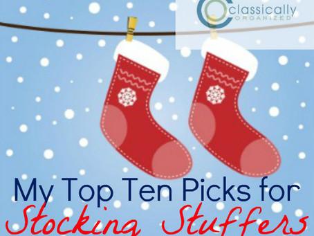 My Top Ten Stocking Stuffer Picks