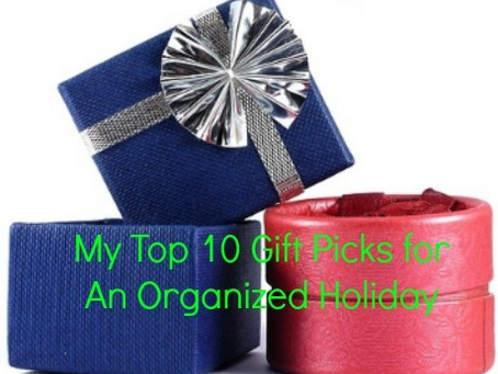 My Top 10 Gift Picks for An Organized Holiday