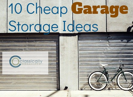 10 Cheap Garage Storage Ideas