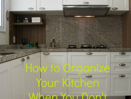 How To Organize Your Kitchen When You Don't Have a Pantry