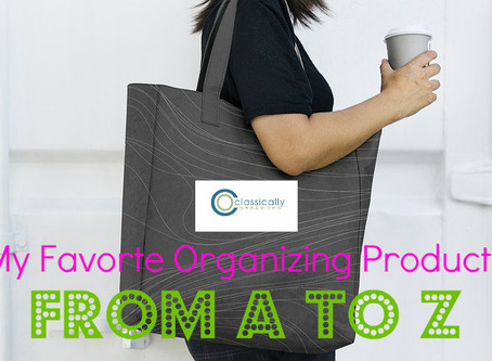 My Favorite Organizing Products from A to Z