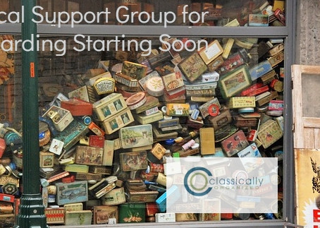 Local Support Group for Hoarding Starting Soon