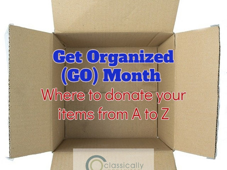 "GO Month - ""O"" Donations"