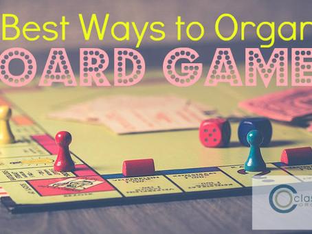 10 Best Ways to Organize Board Games
