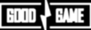 GoodGame logo L valkoinen(ei alaostikkoa