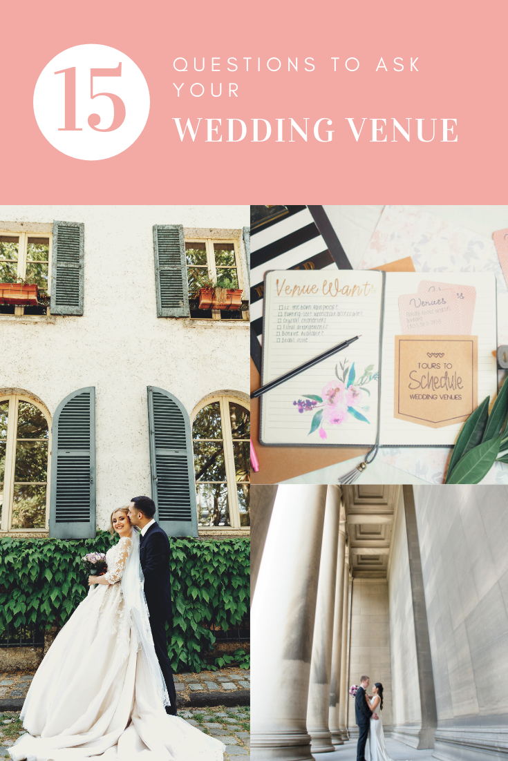 15 Questions to ask your wedding venue