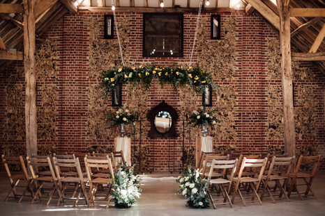 Intimate Ceremony - Tuffon Hall