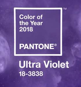 Pantone colour of 2018