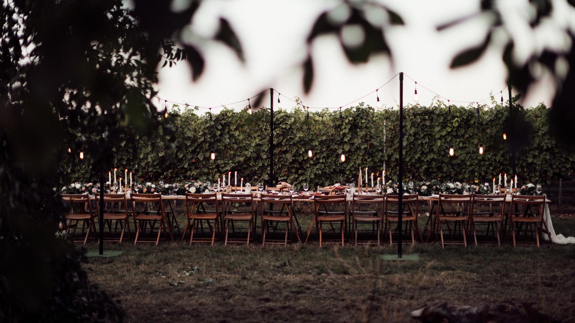 Intimate Wedding Recption