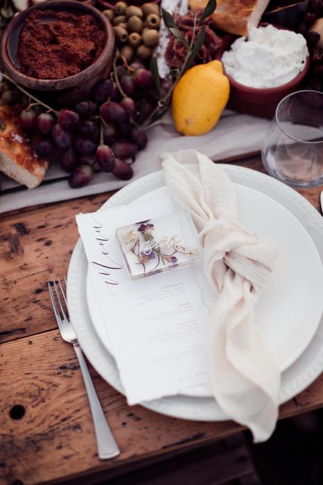 Table setting - Tuffon Hall