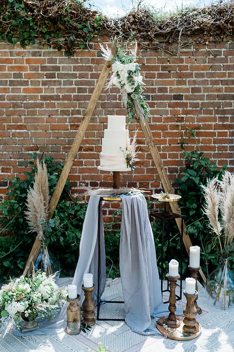 Wedding-Cake-Setup-in-Essex-venue