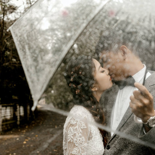 How To Cope With Rain on Your Wedding Day.