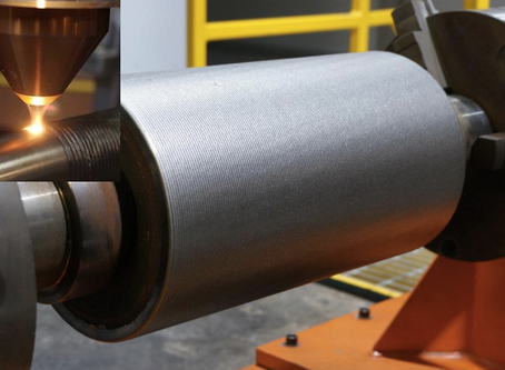 Laser Cladding for Continuous Caster Rolls