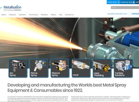 New Metallisation Website Launch 2019
