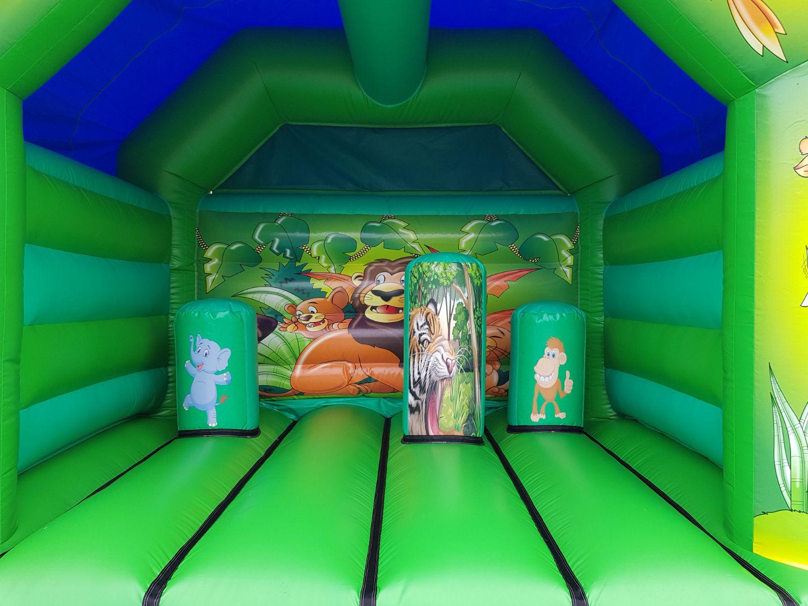 Jungle Activity Bouncy Castle