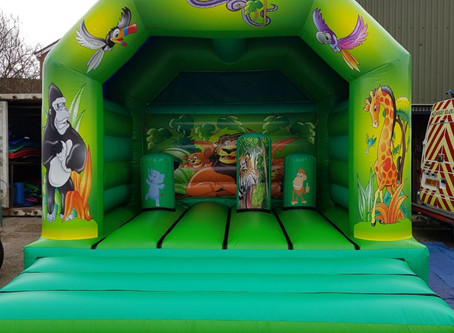 New Bouncy Castles for 2018