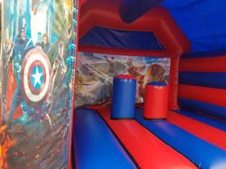 Superhero Activity Bouncy castle