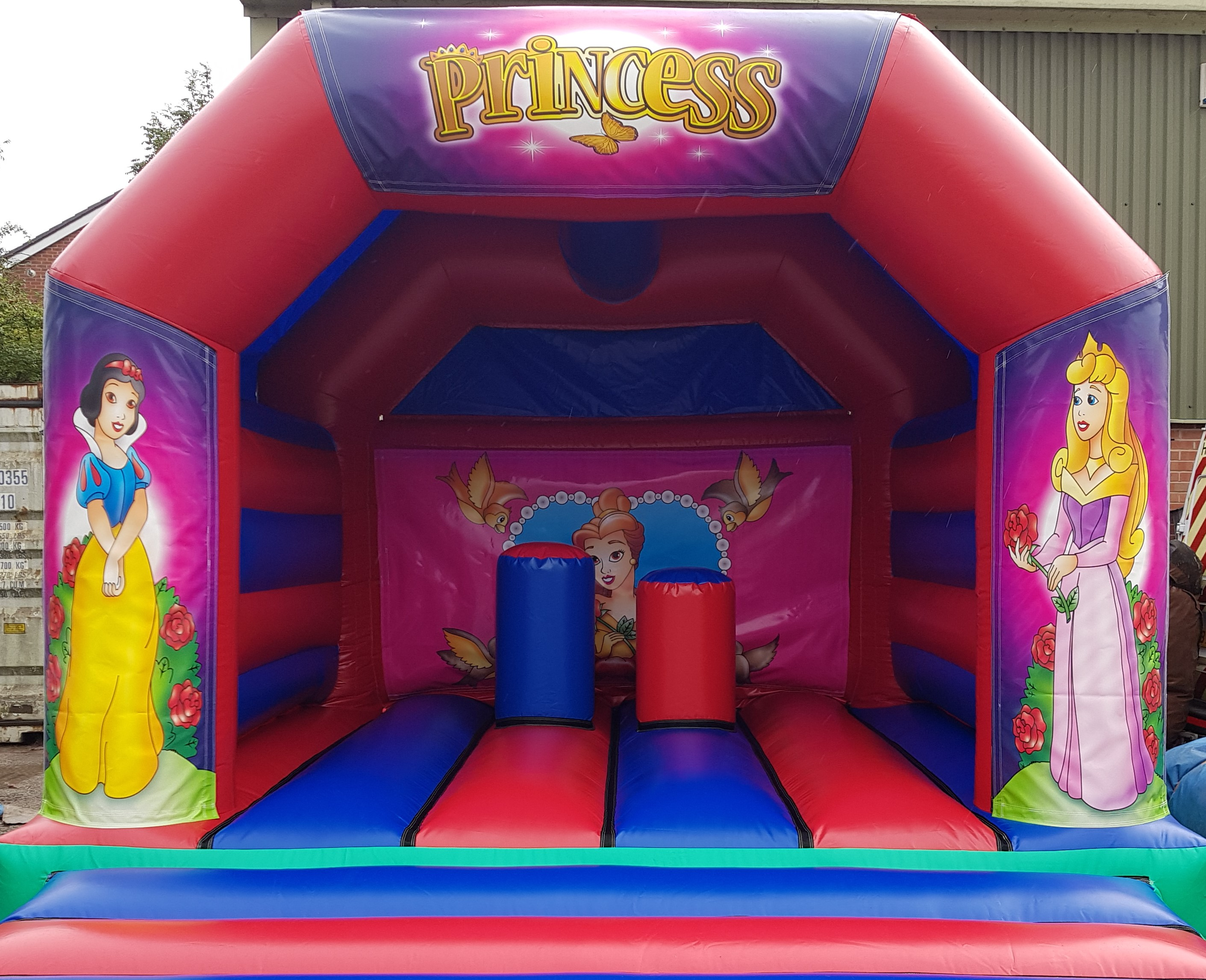 Princess Activity Bouncy Castle