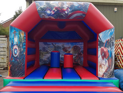 Superhero Bouncy Castle