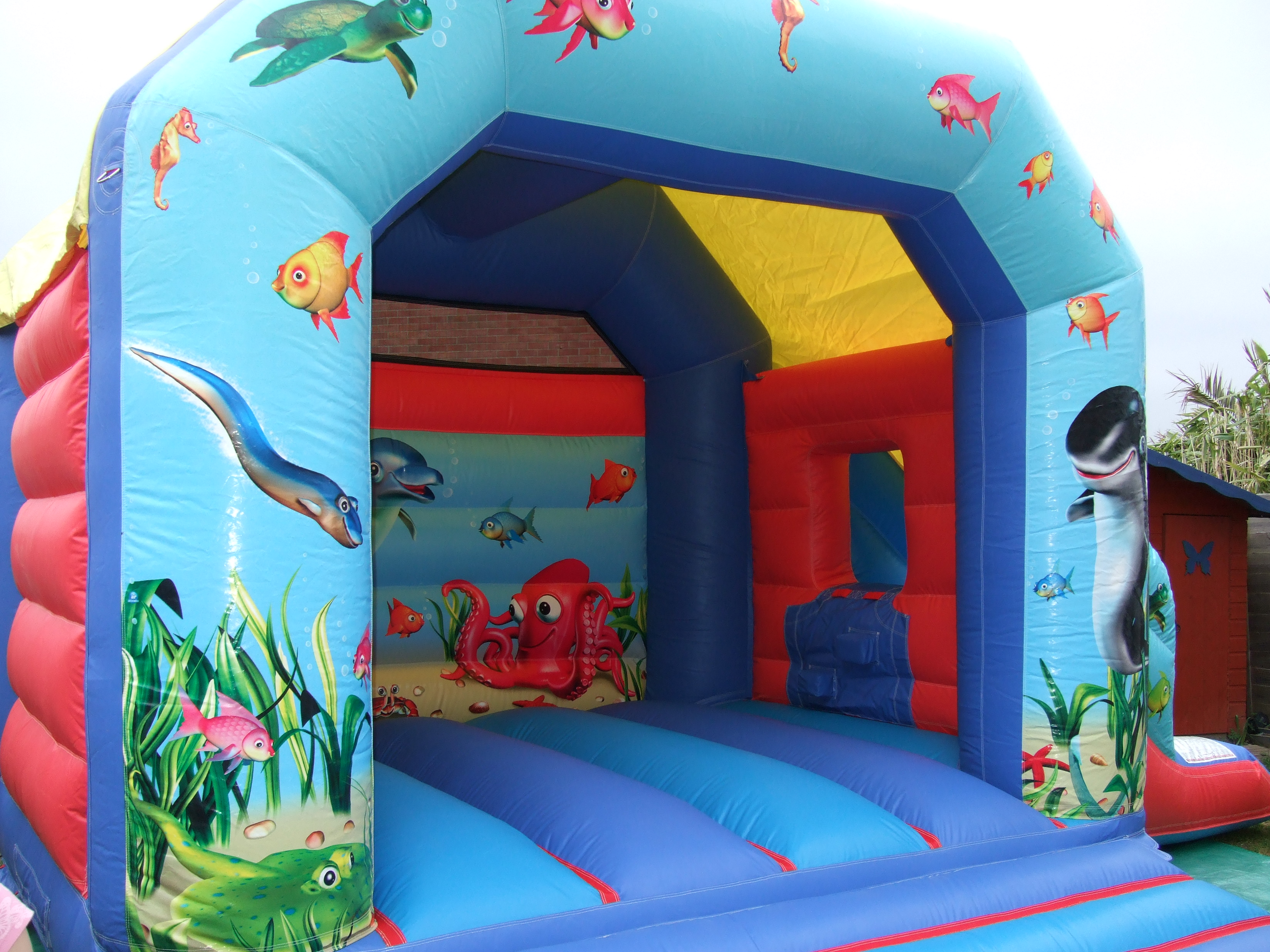 Undersea Bounce & Slide