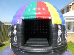 Disco Dome with the Door open