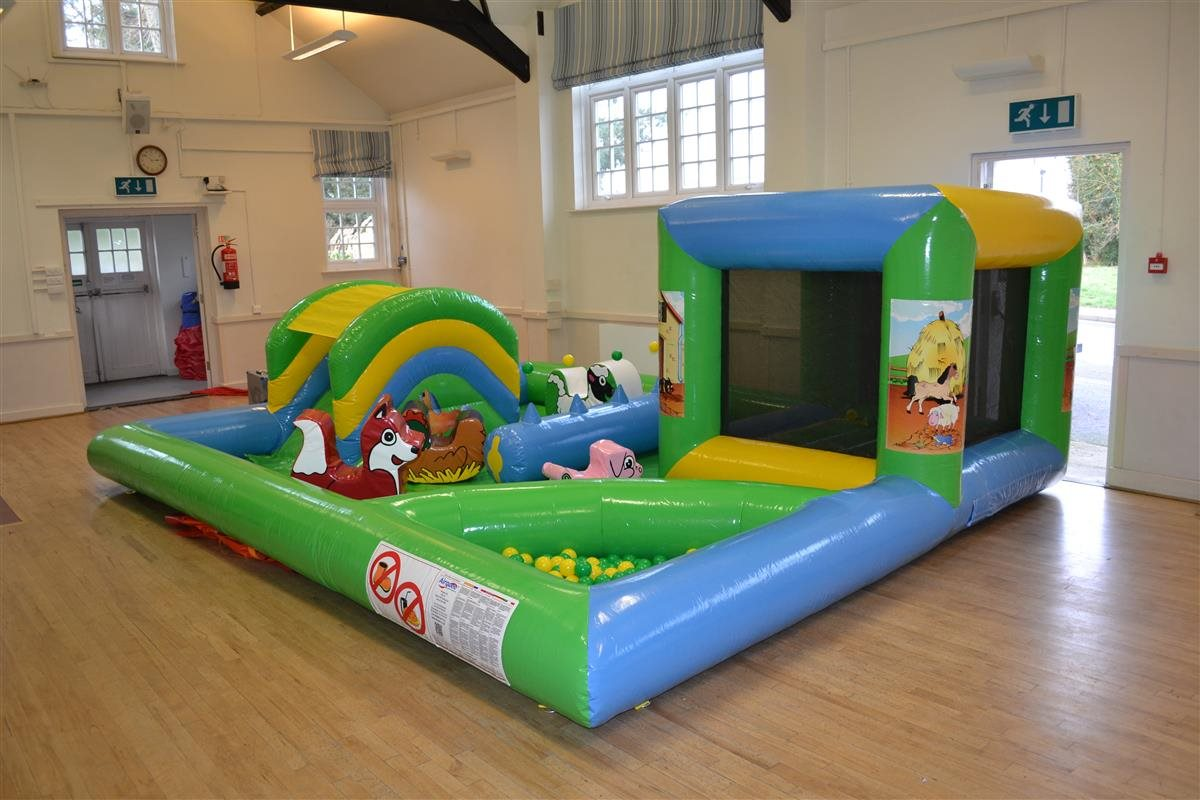 Farmyard soft play