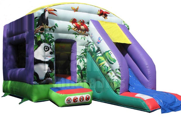 Jungle Bounce & Slide