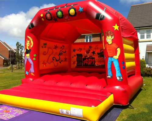 Adult/Child Disco Bouncy Castle