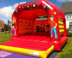 Adult/Child Disco Bouncy Castle