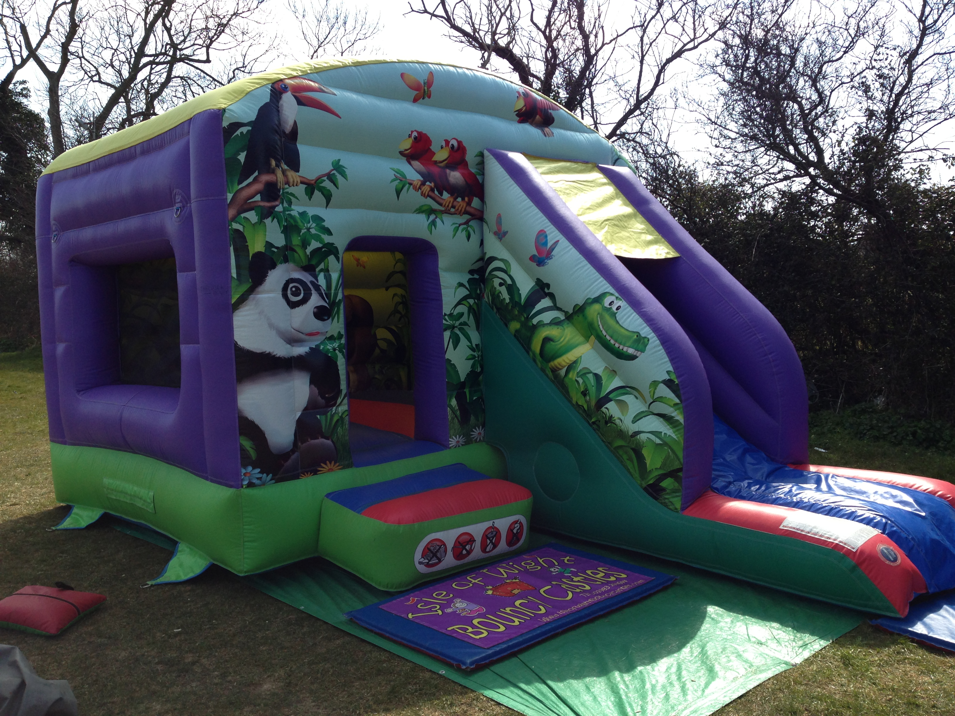 Bouncy castle hire Isle of Wight