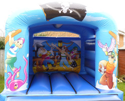 Pirate Bouncy Castle