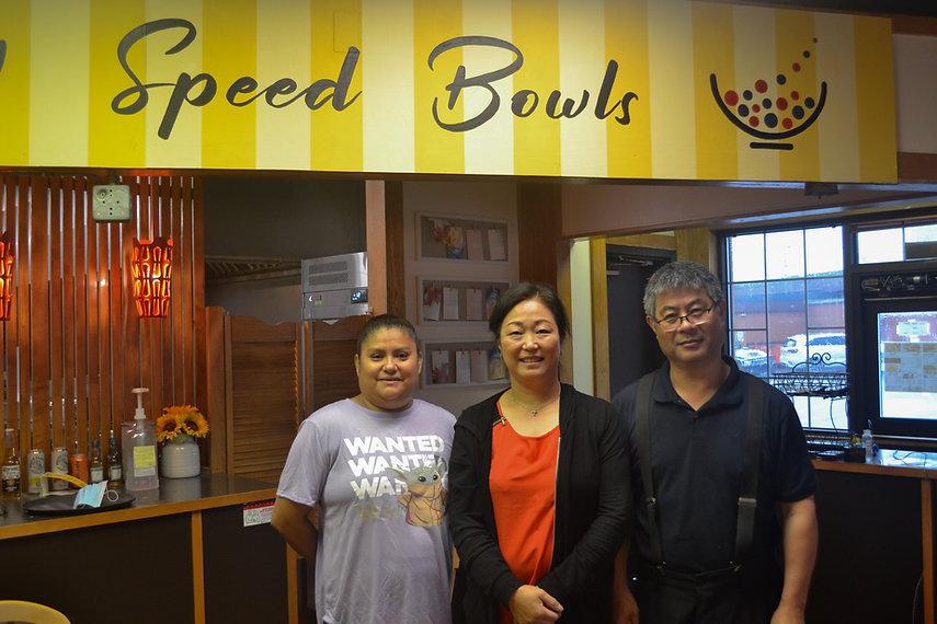 Staff at Speed Bowls