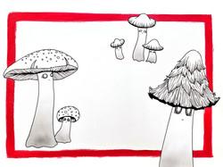 Mushroom Ghosts