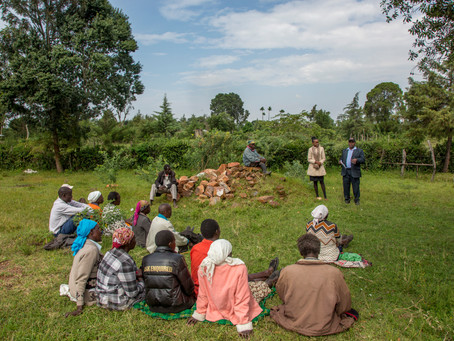 Helping communities in Bomet County become Open Defecation Free