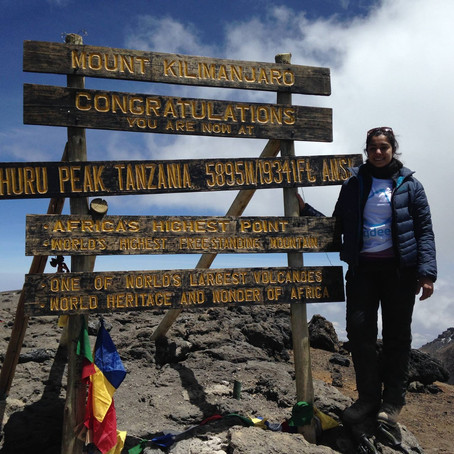 Climbing Kili for Clean Water