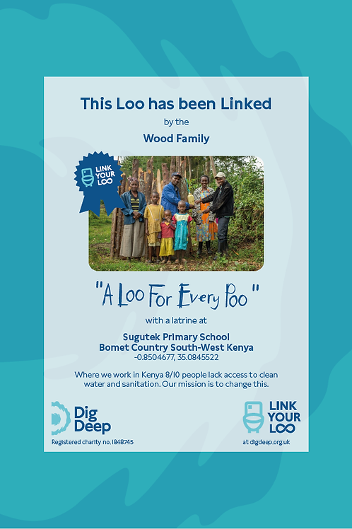Framed Link You Loo: 'A loo for every poo'