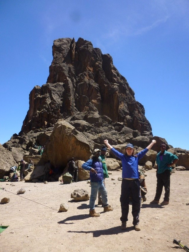 Feeling Strong at Lava Tower, Acclimatisation Day 4,600m