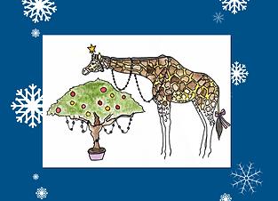 Giraffe xmasAsset 13.png