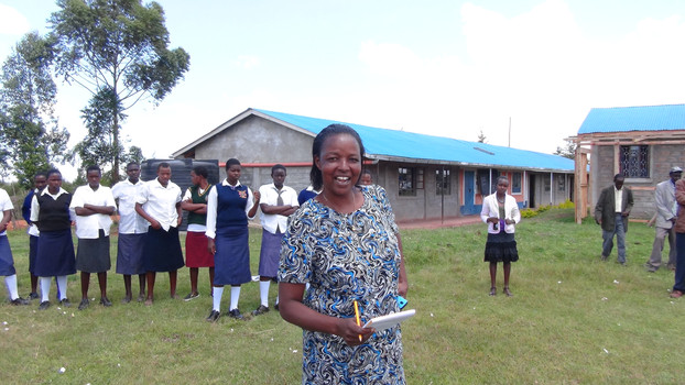 #BeBoldforChange – Catherine Kauria, Headmistress of Kagasik School