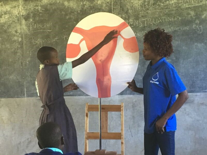 Menstrual Hygiene Training