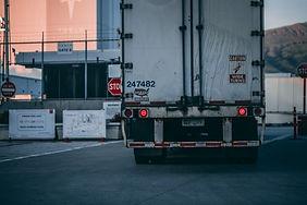 原料の輸送車両