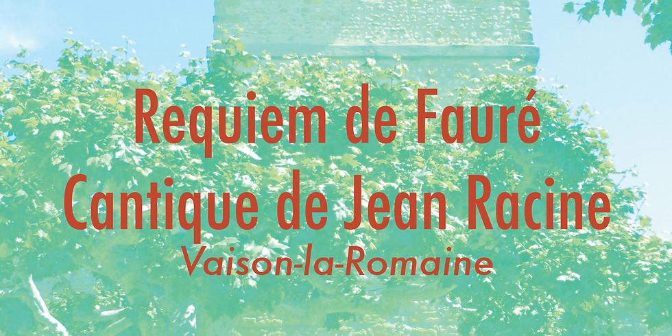 Le Requiem de Fauré en Provence