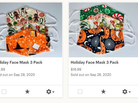 Holiday Face Mask Fundraiser