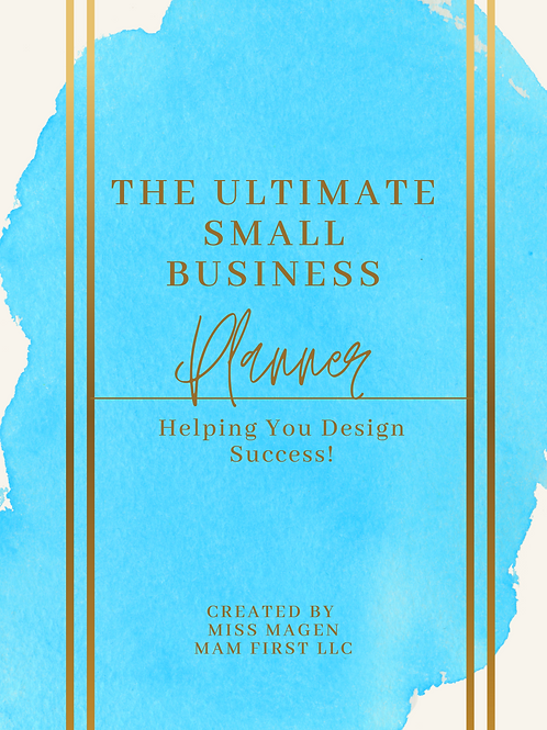 MAM FIRST LLC Ultimate 2021 Small Business Planner