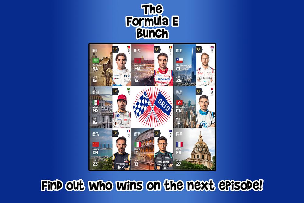 The 7 races winners this season