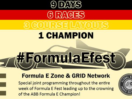 Formula E Zone & GRID Network #FormulaEfest 2020!
