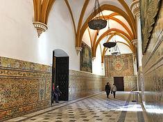 Sevilla, gotischer Teil des Alcaza
