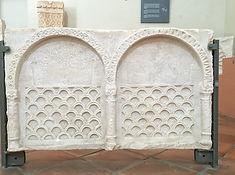 Fragment einer westgotischen Marmorstele
