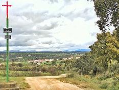 Santiagokreuz vor Aljucen