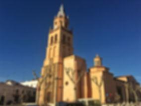 Kirche in Villafranca de los Barros